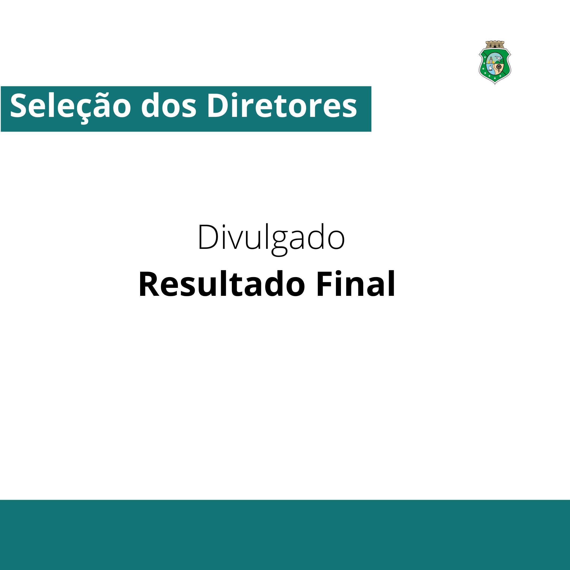 Seas divulga resultado final da seleção para diretores