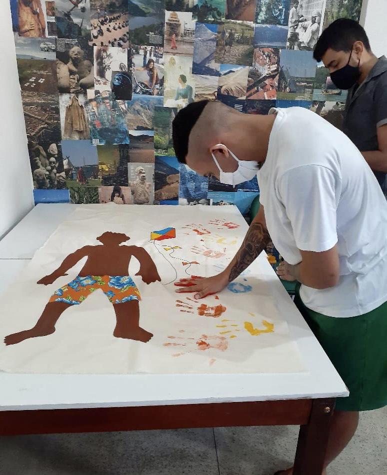 Centro Socioeducativo realiza oficina sobre Consciência Negra